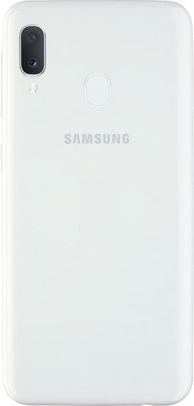 Samsung Galaxy A20e -Android-puhelin, Dual-SIM, 32 Gt, valkoinen, kuva 3