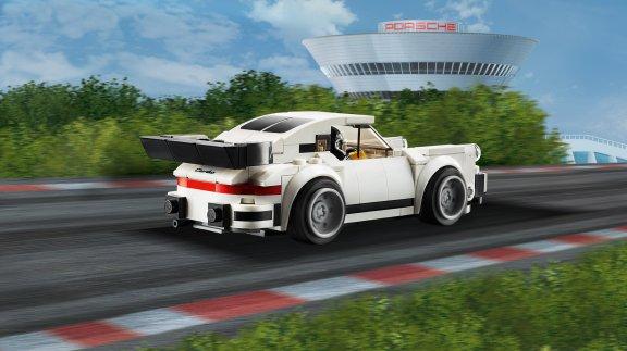LEGO Speed Champions 75895 - 1974 Porsche 911 Turbo 3.0, kuva 5