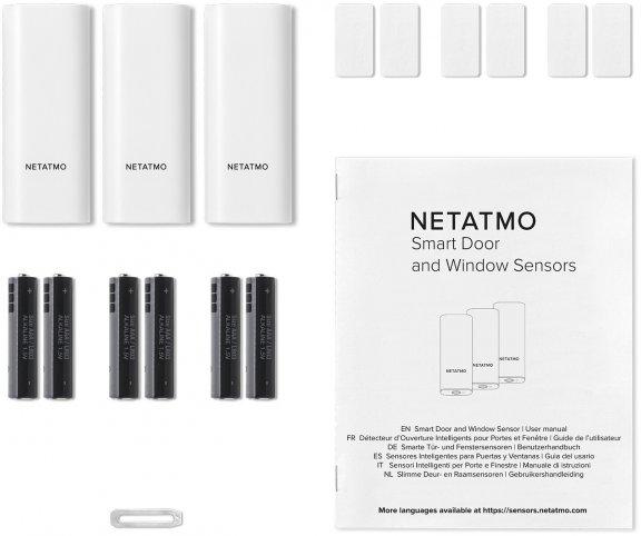 Netatmo Door and Window Sensors -ovi- ja ikkuna-anturit valvontakameralle, 3kpl, kuva 7