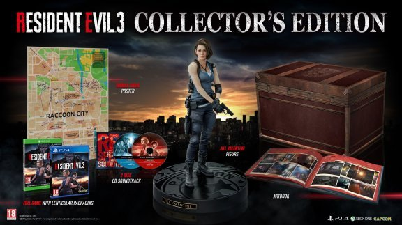 Resident Evil 3 - Collector's Edition -peli, PS4