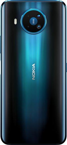 Nokia 8.3 5G -Android-puhelin Dual-SIM, 128 Gt, sininen