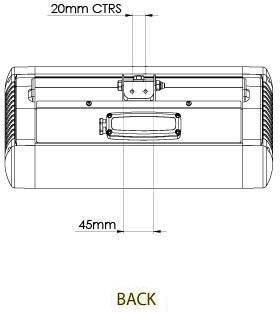 Tansun Monaco -terassilämmitin, 1,5 kW, hopea, kuva 5
