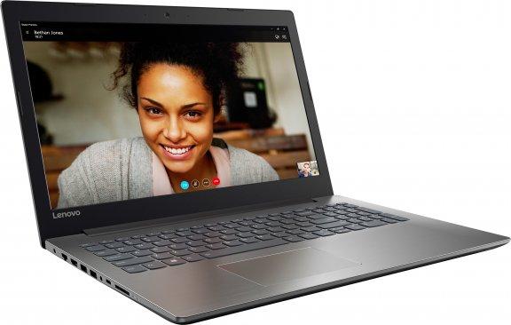 """Lenovo IdeaPad 320 15,6"""" kannettava, Win 10 64-bit, musta, kuva 3"""
