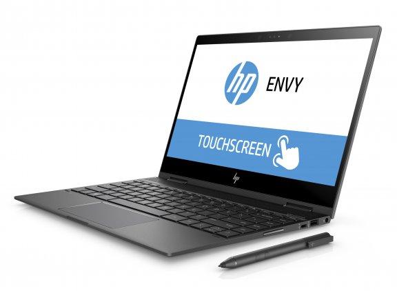 """HP Envy x360 13-ag0001no 13,3"""" -kannettava, Win 10, Tuhkanhopea"""
