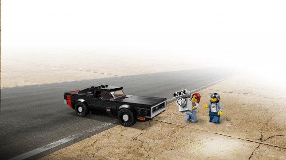 LEGO Speed Champions 75893 - 2018 Dodge Challenger SRT Demon ja 1970 Dodge Charger R/T, kuva 5