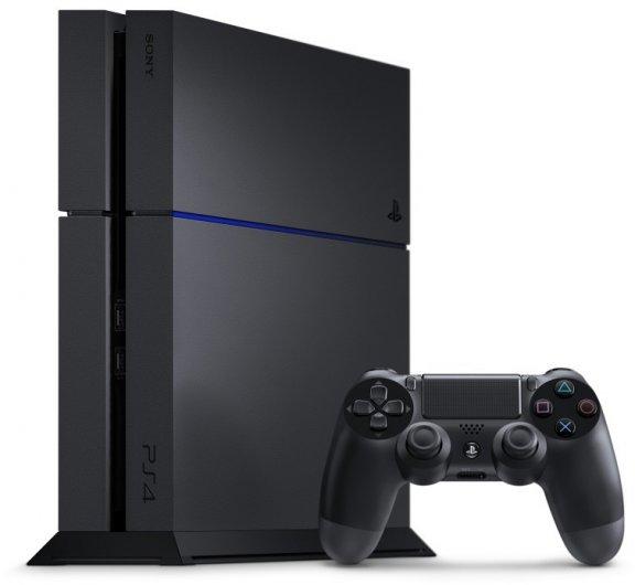 Sony PlayStation 4 500 Gt -pelikonsoli, musta