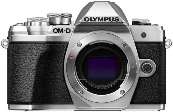 Olympus OM-D E-M10 Mark III -järjestelmäkamerarunko, hopea