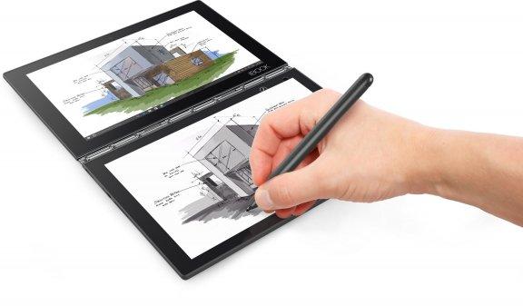 "Lenovo Yoga Book 10,1"" Windows 10 Pro -tabletti, musta, kuva 3"