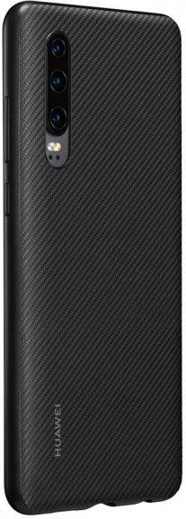 Huawei P30 PU Cover, musta, kuva 4