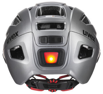 Uvex Finale Visor Vario -pyöräilykypärä, teräksenharmaa, 52-57 cm, kuva 4