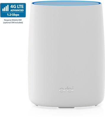Netgear Orbi LTE 3G/4G/LTE-modeemi ja Tri-Band WiFi Mesh -reititin