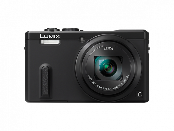 Panasonic LUMIX TZ60 digikamera, musta