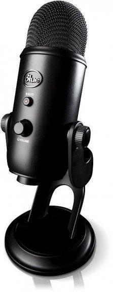 Blue Microphones Yeti Blackout -mikrofoni USB-väylään, musta