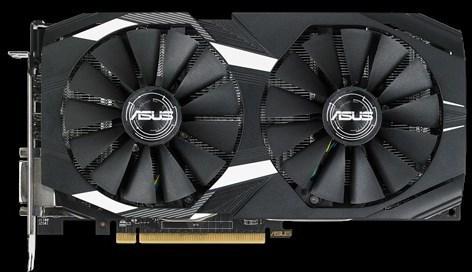 Asus DUAL-RX580-O8G Radeon RX 580 OC 8 Gt -näytönohjain PCI-e-väylään, kuva 3