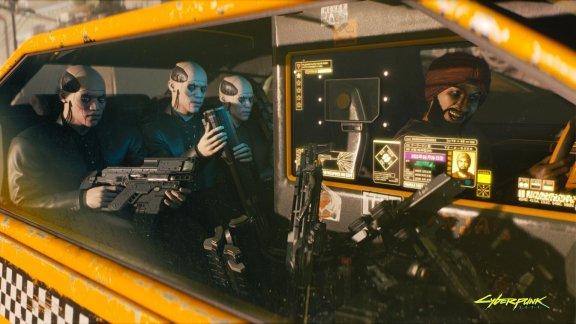 Cyberpunk 2077 -peli, PS4, kuva 5