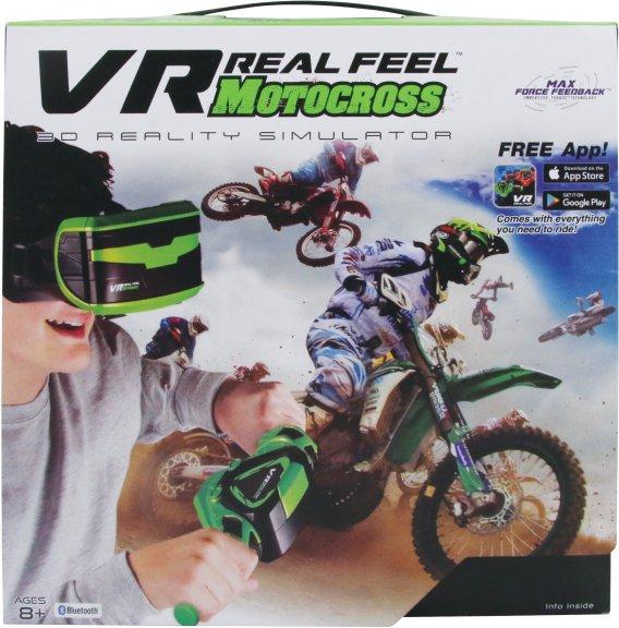 VR Real Feel Motocross -setti