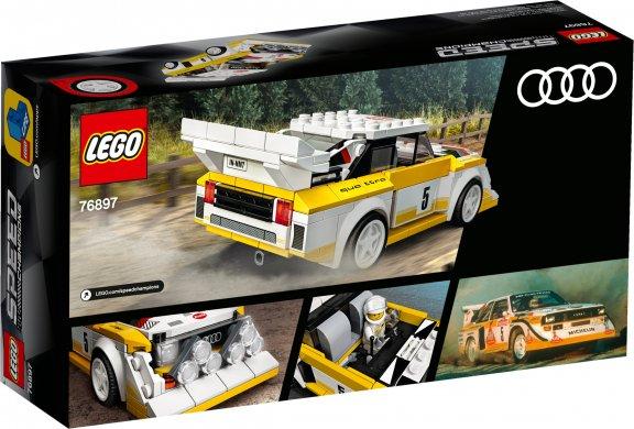 LEGO Speed Champions 76897- 1985 Audi Sport quattro S1, kuva 2