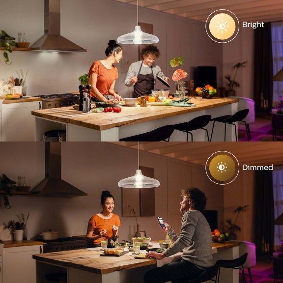 Philips Hue -älylamppu, BT, White, E27, 1600 lm, kuva 11