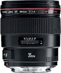 Canon EF 35mm f/1.4L USM -laajakulmaobjektiivi