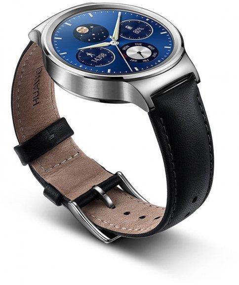 Huawei Watch -älykello, hopea nahkarannekkeella, kuva 2