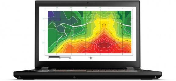 """Lenovo ThinkPad P50 15,6"""" -kannettava, Win 7 Pro, kuva 2"""