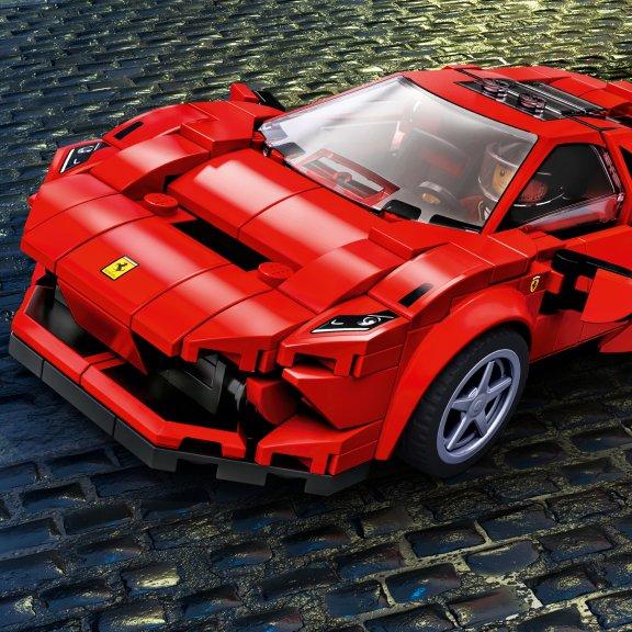 LEGO Speed Champions 76895 - Ferrari F8 Tributo, kuva 6