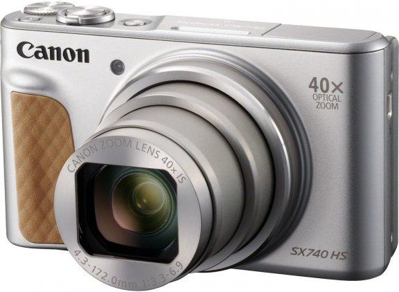 Canon Powershot SX740 HS -digikamera, hopea, kuva 4