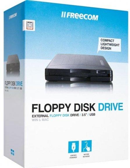 """Freecom Floppy Disk Drive USB-liitäntäinen levyasema 3,5"""" levyille, kuva 3"""
