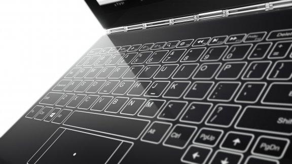 "Lenovo Yoga Book 10,1"" Windows 10 Pro -tabletti, musta, kuva 10"