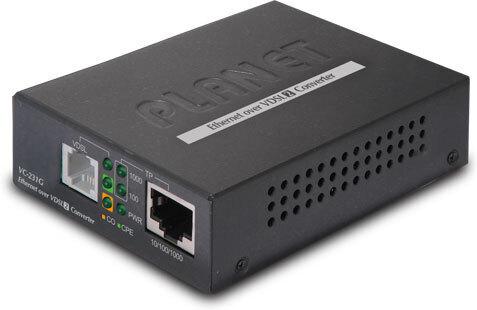 PLANET VC-231G, Ethernet - VDSL2 -mediamuunnin, kuva 2