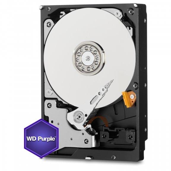 """WD Purple 2 TB SATA-III 64 MB 3.5"""" kiintolevy"""