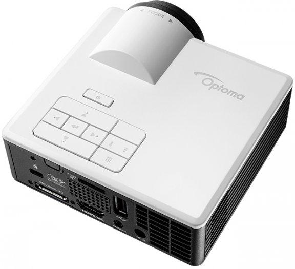 Optoma ML1050ST+ Ultra Mobile LED -kompakti projektori, kuva 5