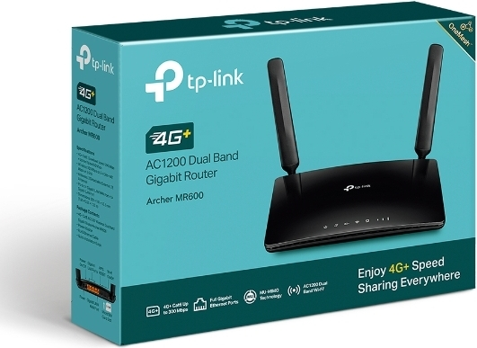TP-LINK Archer MR600 -4G+ LTE-modeemi ja WiFi-tukiasema, kuva 9