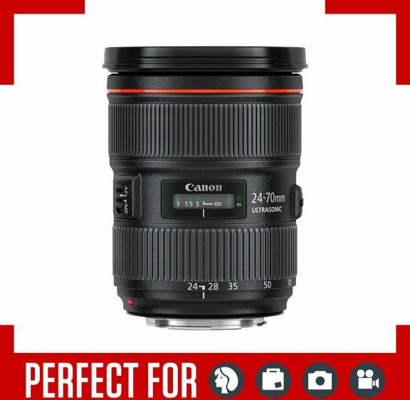 Canon EF 24-70 mm 2.8 L II USM vakiozoom, kuva 2