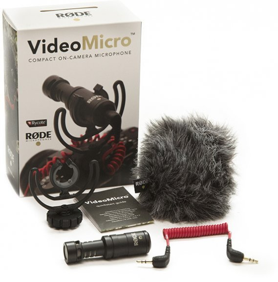 Rode VideoMicro -videomikrofoni