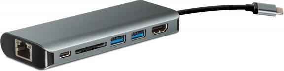 Fuj:tech PRO Dock USB-C -telakka, tähtiharmaa