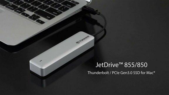 Transcend JetDrive 855 SSD-päivitys Apple tietokoneille, 240 Gt, kuva 4