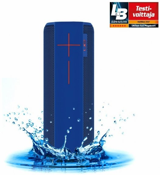 UE MEGABOOM -kannettava Bluetooth-kaiutin, sininen