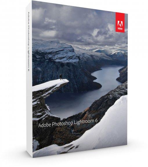 Adobe Photoshop Lightroom 6 -kuvankäsittelyohjelmisto, DVD
