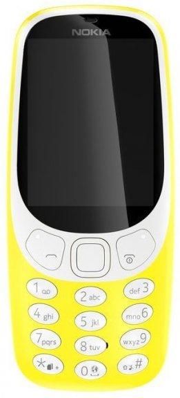 Nokia 3310 -peruspuhelin Dual-SIM, keltainen, kuva 2