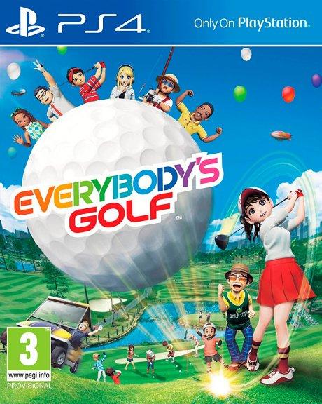 Everybody's Golf -peli, PS4