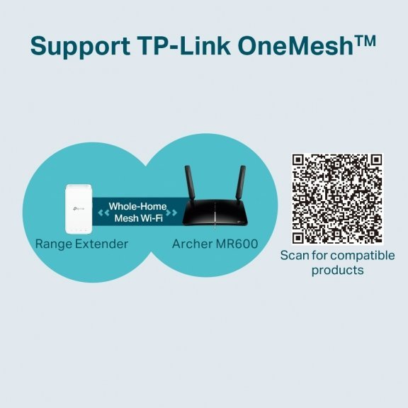 TP-LINK Archer MR600 -4G+ LTE-modeemi ja WiFi-tukiasema, kuva 7