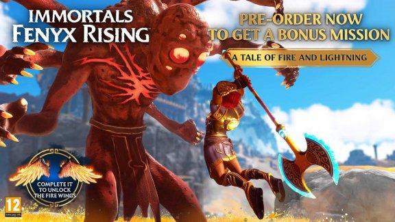 Immortals Fenyx Rising - Gold Edition -peli, PS5, kuva 3
