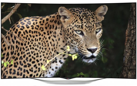 """LG 55EC930V 55"""" Smart 3D Curved OLED-televisio, webOS, WiFi, Miracast"""