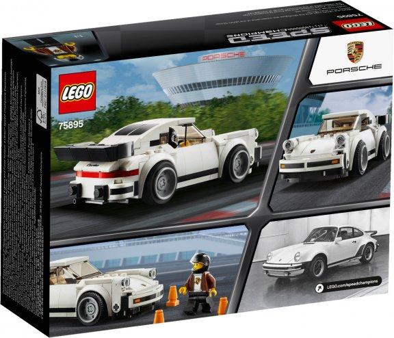 LEGO Speed Champions 75895 - 1974 Porsche 911 Turbo 3.0, kuva 2