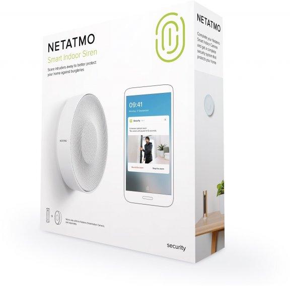 Netatmo Smart Indoor Siren -sireeni valvontakameralle, kuva 6