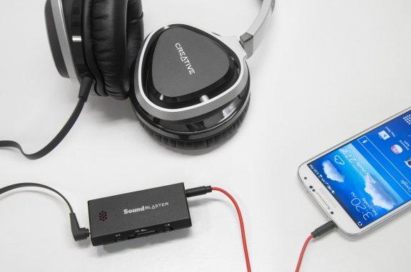 Creative Sound Blaster E1 -kuulokevahvistin, kuva 3
