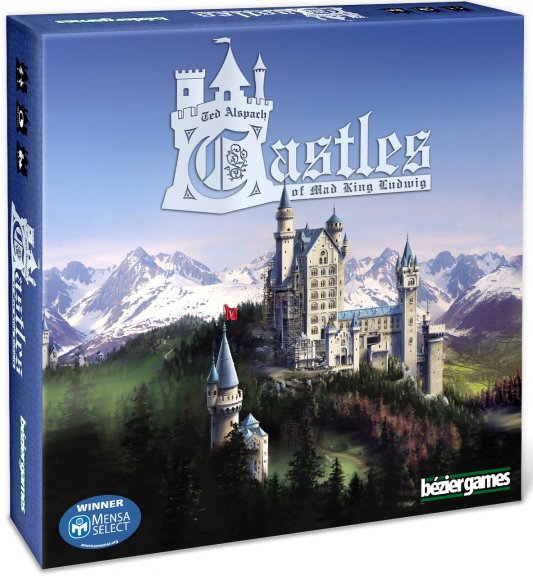 Competo Castles of Mad King Ludwig -strategiapeli