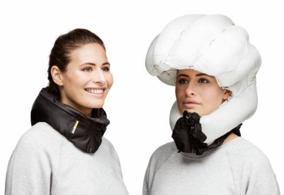 Hövding Airbag 2.0 -kypärä, musta, M