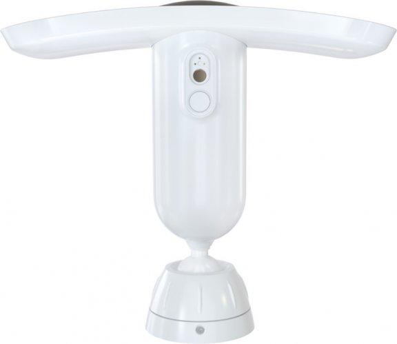 Arlo Pro 3 Floodlight -valvontakamera 2K-tarkkuudella ja LED-valaisimella, valkoinen, kuva 2